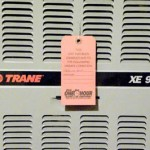 red tagged heat exchanger