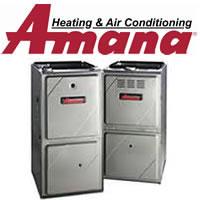 amana gas furnace image